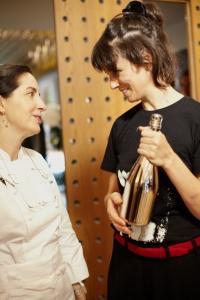 Helena Rizzo with Elena Arzak by Georgia Glynn Smith